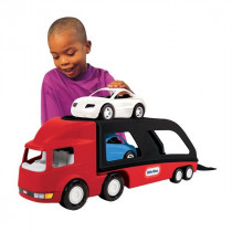 Little Tikes Transporter voitures - Rouge / Noir