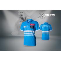 XQ Max Dart Shirt VvdV - Bleu