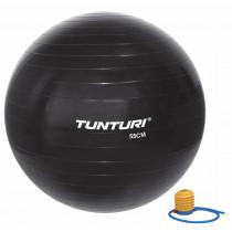 Tunturi Ballon de Gym 55 cm - Noir