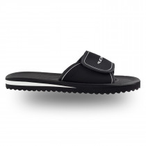 Rucanor Santander Slipper avec sangle velcro Senior - noir / blanc