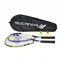 Rucanor Speed Badminton set - Bleu / Vert