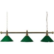 Brass Lamp 3 Shades 150 cm - Vert