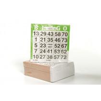 Longfield ensemble de 500 cartes de bingo