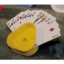 Longfield Cartes à jouer en plastique Titulaire