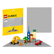 Lego 10701 Classic Plate Gris