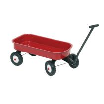 Wagon en Metal - Rouge