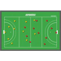 Sportec hockey sur un tableau magnétique entraîneur