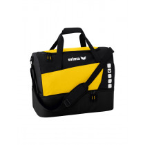 Erima Club 5 Sports bag with bottom compartment - Yellow / Black