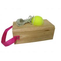 Tennistrainer Luxe Rubberhout 1200 gr