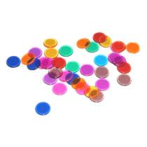 Bingo Chips Transparant Multicolor - 300 pièces