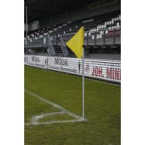 Uefa mât de drapeau de coin blanc 30