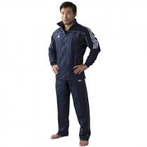 Adidas Team  Training Jacket - Bleu / Blanc