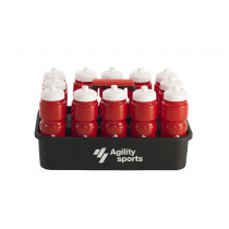 Agility Sports Bottle Crate - 12 bouteilles d'eau inclus