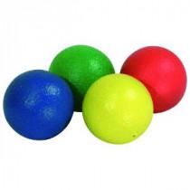 Peau-Coated Foam Balls - Rouge