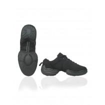 Papillon Dance sneaker canvas split sole low top Femmes - Noir - 4