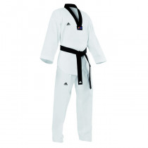 Adidas Taekwondo Costume Champion II Noir Lapel