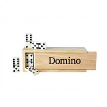 Longfield Dominos Double 6 Large Wooden Box
